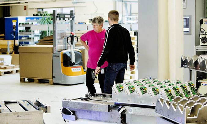 Cobots place Nordic countries in the global top five