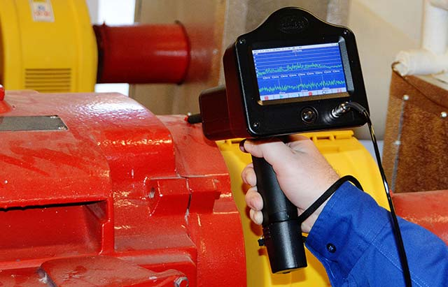Slow Speed Bearing Monitoring with Ultrasound - Applications - Maintworld