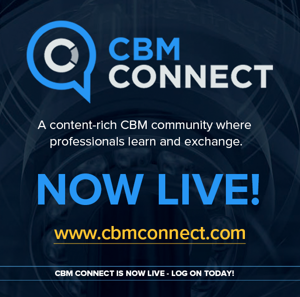Mobius Institute Launches CBMconnect.com - a Multimedia Website Serving the Industrial CBM Professional Community