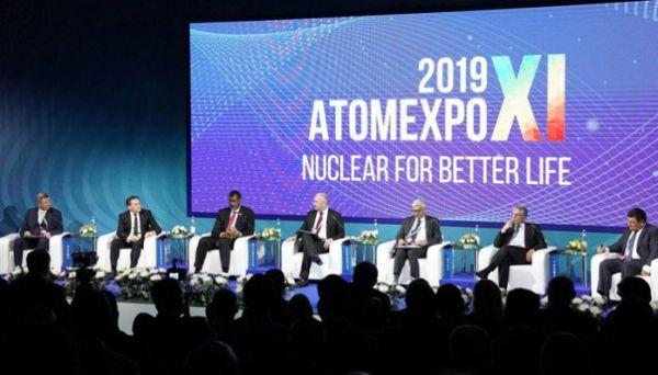 The 11th edition of the annual international forum on nuclear energy ATOMEXPO 2019 starts at the Russian city of Sochi