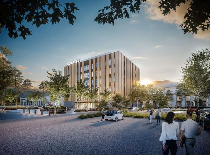 Peab Builds Carbon Dioxide Neutral Factory for Komatsu Forest in Umeå