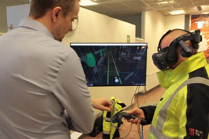 SSAB Raahe to trial VR to improve workplace safety