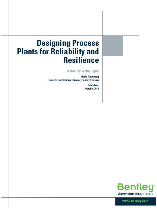 Designing Process Plants for Reliability and Resilience