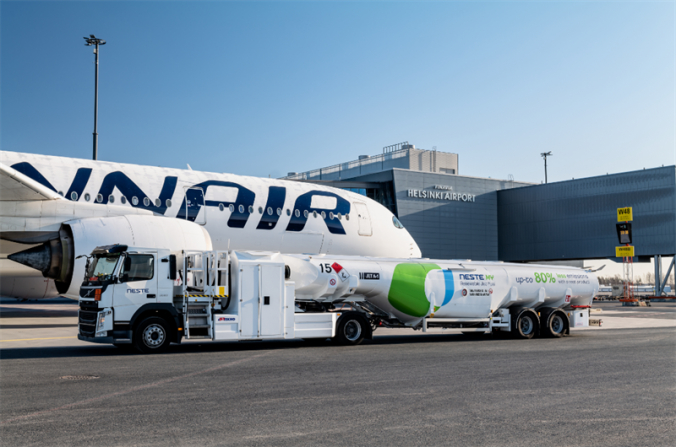 Finnish airliner Finnair shows green light to electric flying