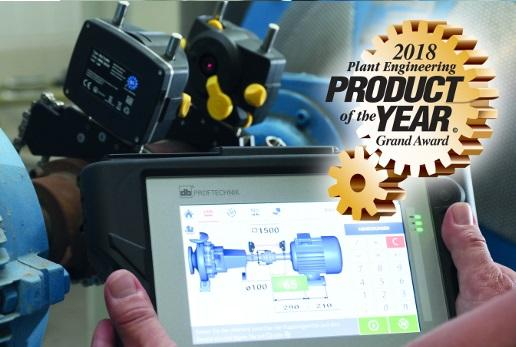 "OPTALIGN touch is ""Product of the Year"" - PRUFTECHNIK receives highest possible award"