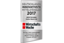 PRUFTECHNIK amongst TOP 50 most innovative German mid-tier