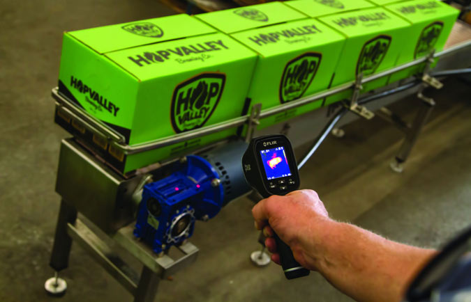 Thermal Imager and IR Spot Meter from Flir Secure Rapid and