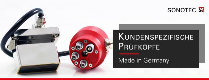 German-Made Customized Transducers for Ultrasonic NDT