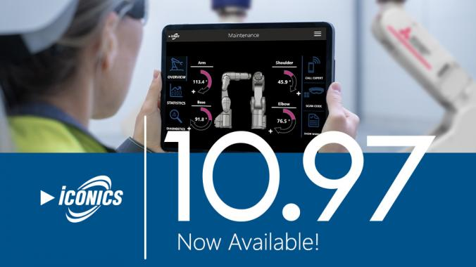 ICONICS announces the release of version 10.97 of its automation software suite
