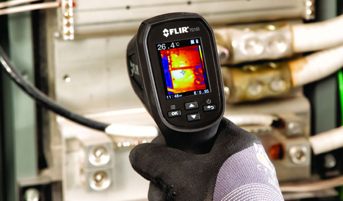 Thermal Imager and IR Spot Meter from Flir Secure Rapid and Easy