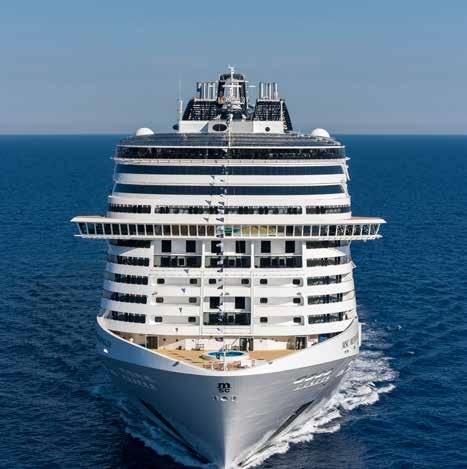 MSC Cruises Chooses ICONICS For Updated Ship Controls - Cruise ship controls